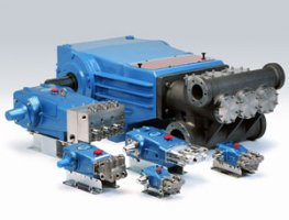 Manufacturer of high pressure piston and plunger pumps