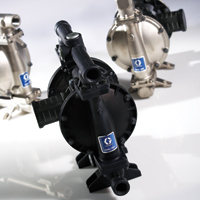 Manufacturer of Air Operated Diaphragm pumps and Industrial Piston pumps