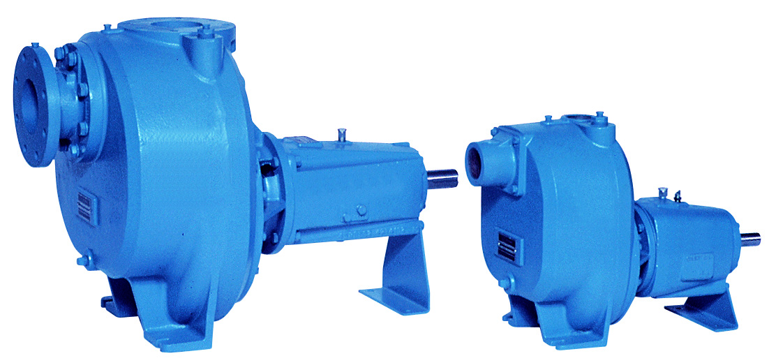 Manufacturer of NSF Certified, self priming, end suction centrifugals and turbine & split case pumps
