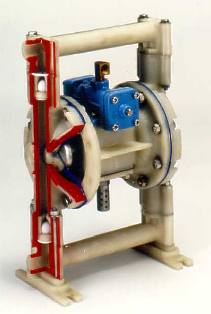 Manufacturer of centrifugal and air operated diaphragm pumps